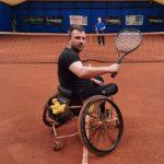 Wacławski Piotr - 38 lat wolontariusz  na wózku pomoc w prowadzeniu  zajeć