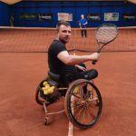 Węcławski Piotr - 38 lat wolontariusz  na wózku. Pomoc w prowadzeniu i organizacji  zajeć, oraz pomoc przy organizacji imprez sportowych.